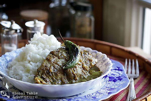 Coconut Fish Curry | Cari de Poisson