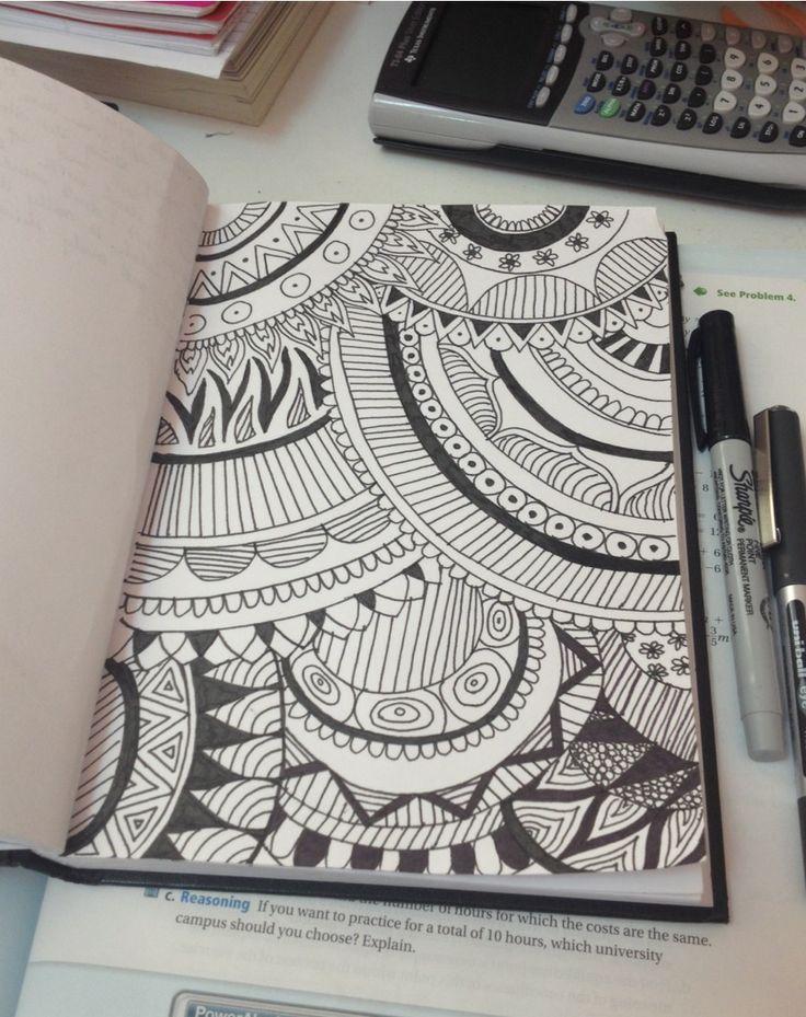 Procrastination At Its Finest Tumblr Zentangles Pinterest