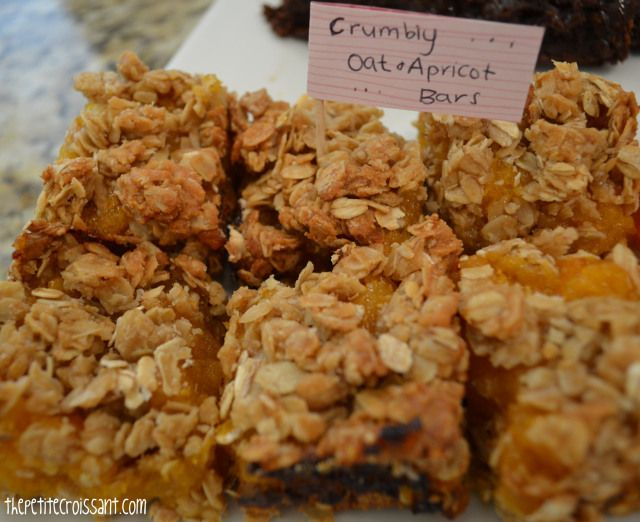 apricot oat bars | the petite croissant (my blog ...