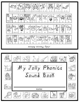 Jolly Phonics Sound Book NO ACTION SYMBOL PICTURES