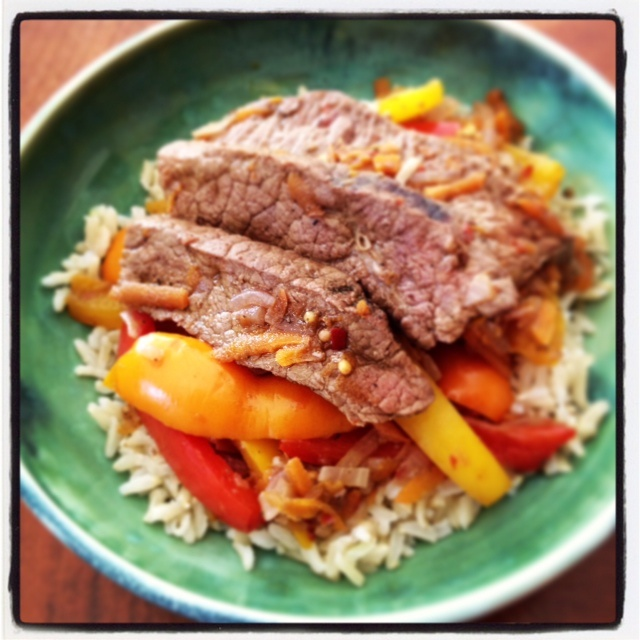 Spicy Beef and Bell Pepper | Well Done | Pinterest