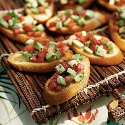 Avocado Bruschetta | Recipe