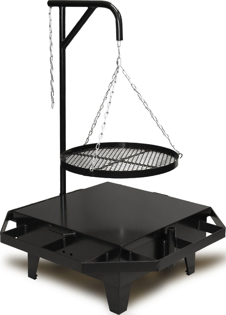 portable fire pit and cooking area  Barbecue  Pinterest