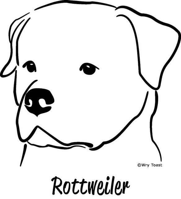 Rottweiler Dogs And Cats And Other Cuties Pinterest Rottweiler Coloring Pages
