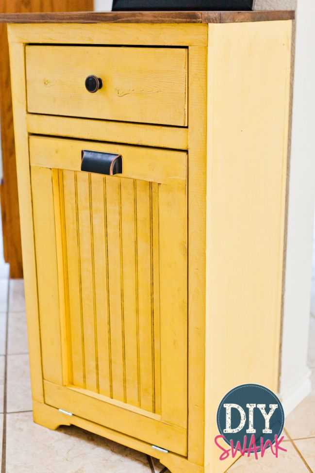diy tilt out trash bin. Black Bedroom Furniture Sets. Home Design Ideas