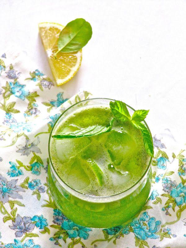 Plateful: Limonana—Refreshing Mint Lemonade—the coolest of summer ...