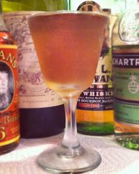 the Tipperary Cocktail from Harry Craddock's classic Savoy cocktail ...