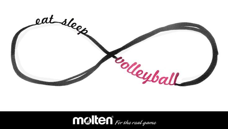 eat sleepvolleyball volleyball pinterest