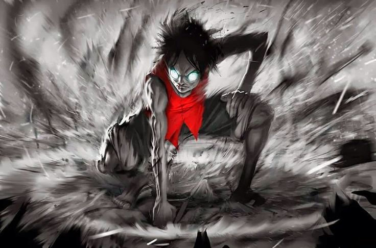 One Piece Wallpaper Luffy Gear Fourth One Piece Chapter
