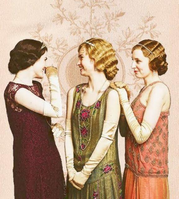 ciao! newport beach: I love the fashion of Downton Abbey