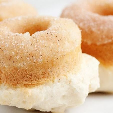Baked Cinnamon Sugar Doughnuts | Food & Drink | Pinterest
