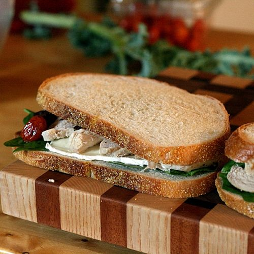 Roasted Chicken, Brie, and Balsamic Tomato Sandwiches from branny ...