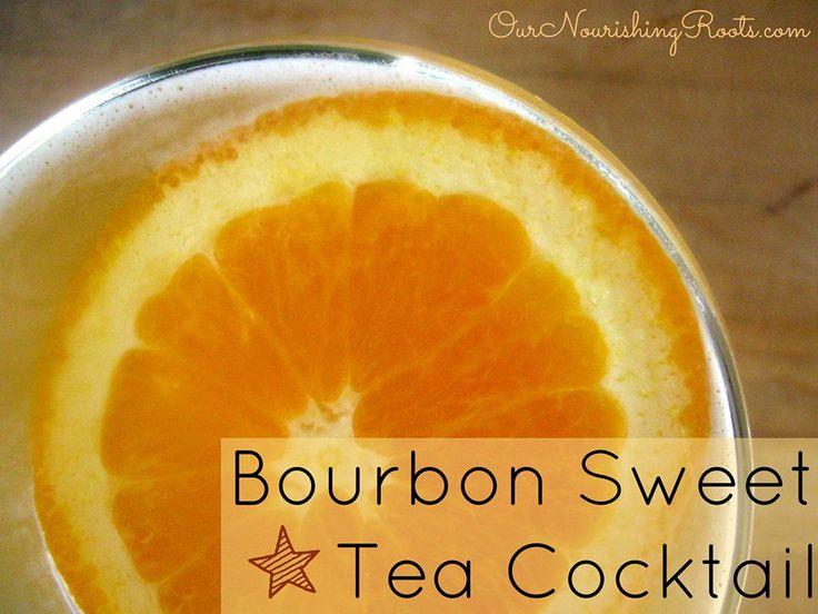 SCD Bourbon Sweet Tea Cocktail | scd | Pinterest