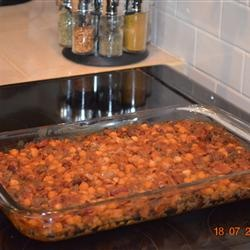 Calico Bean Casserole Allrecipes.com | stuff to make | Pinterest