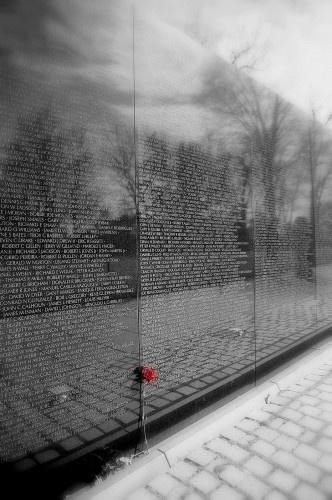 The Wall, Vietnam War Memorial, Washington, D.C.