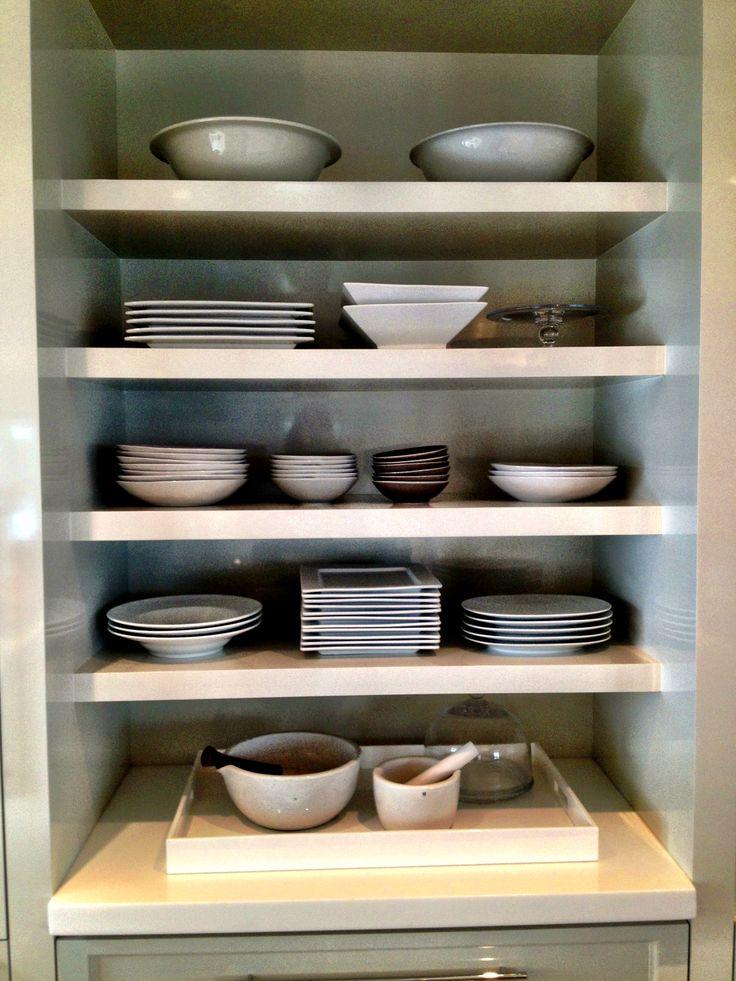 Exposed Kitchen Shelves Dream Kitchen Pinterest