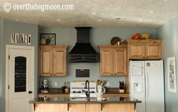 Paint blue arrow by valspar kitchens pinterest for Blue arrow paint color