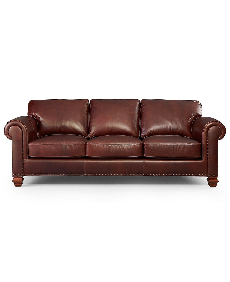 ralph lauren stanmore leather sofa