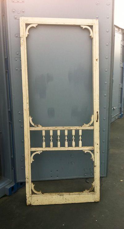 Vintage Screen Doors : Vintage screen door for the home pinterest