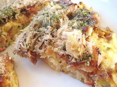 Japanese Pizza (Okonomiyaki)