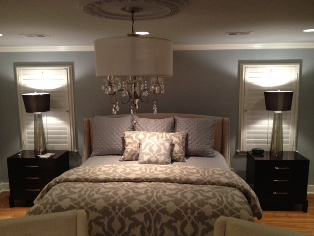 Master bedroom bedrooms pinterest for Master bedroom with 2 beds