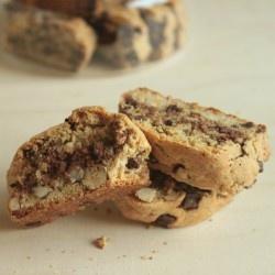 Chocolate Hazelnut Biscotti | 2 Biscotti Scones Breakfast pastries ...