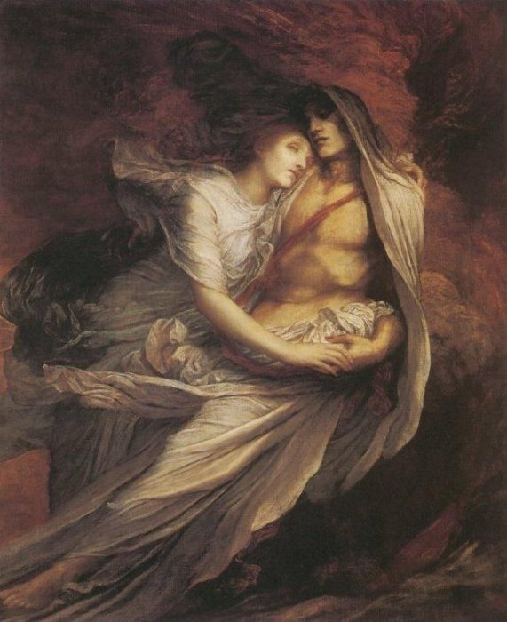 paolo and francesca george frederick watts - Google Search