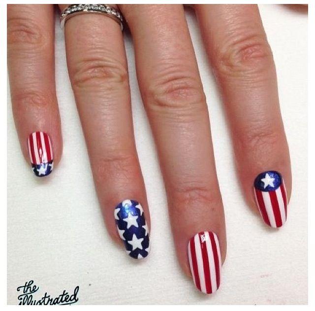 memorial day nail art youtube