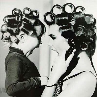 Mother daughter roller set