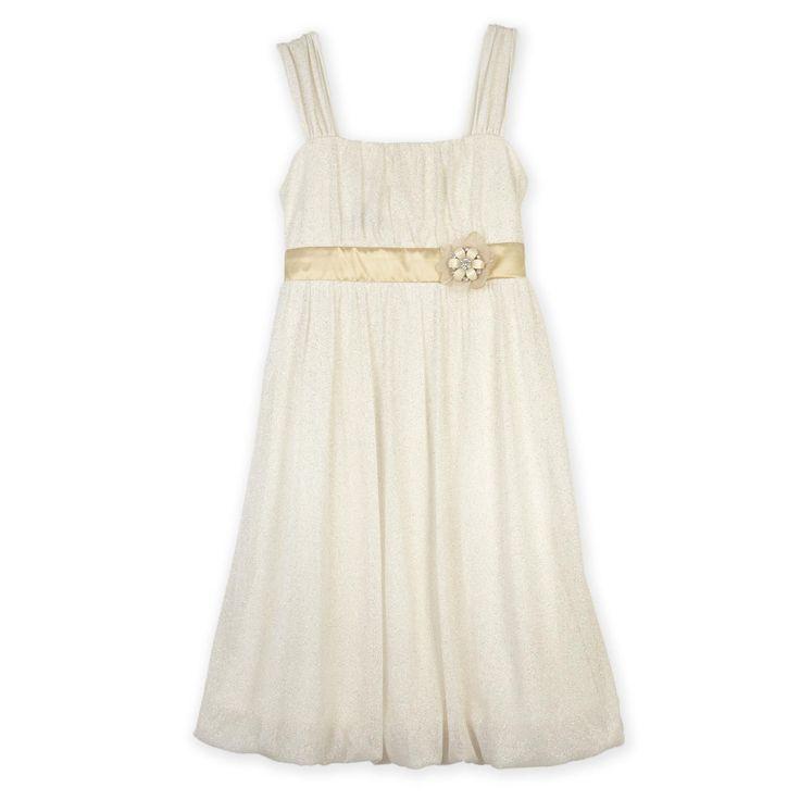 Ivory flower girl dress from sears for Sears dresses for wedding