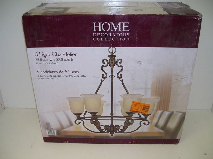 Home Decorators Collection Fairview 6 Light Chandelier 517639 Ed2036
