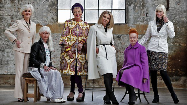 THEY are Sydney's most stylish older women, the true doyennes of fashion who keep looking better the older they get. Unlike the generations ...