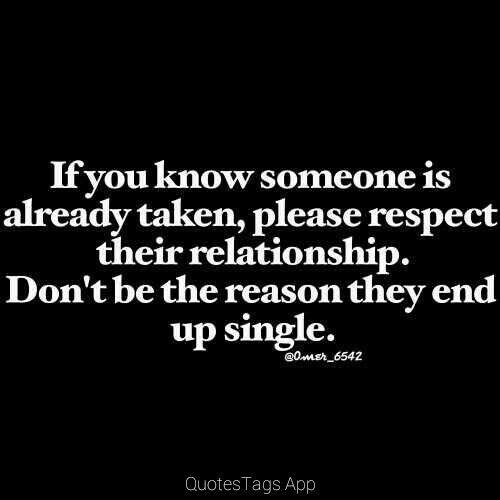 relationships respect in relationships
