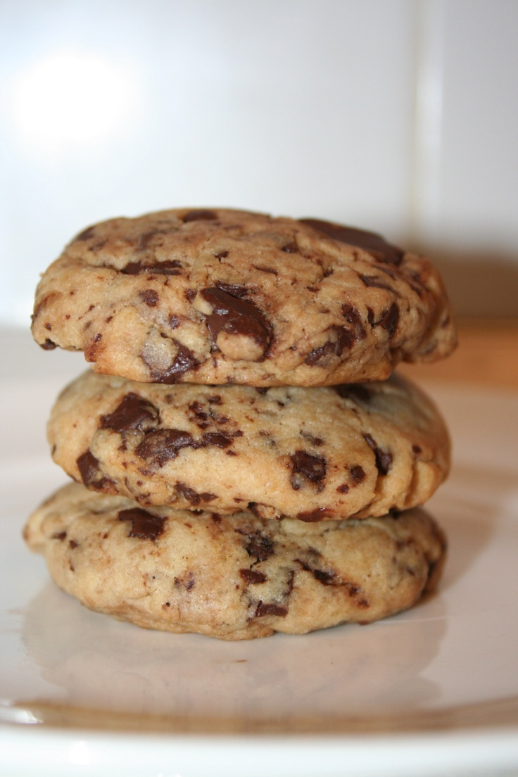 Vegan chocolate chip cookies | Deliciousness | Pinterest