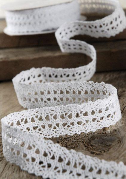Crochet Ribbon : Crochet Ribbon 1 x 10 yards White Caroline Kate Pinterest