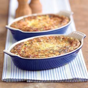 Summer Vegetable and Sausage Frittatas | Serving Up Breakfast | Pinte ...