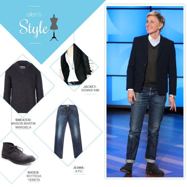 Ellen DeGeneres Style, Fashion & Looks - StyleBistro 46