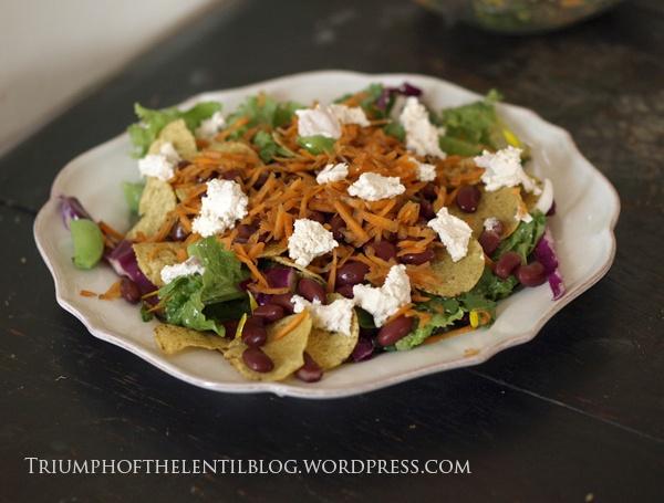 nacho salad | v... Nacho Salat