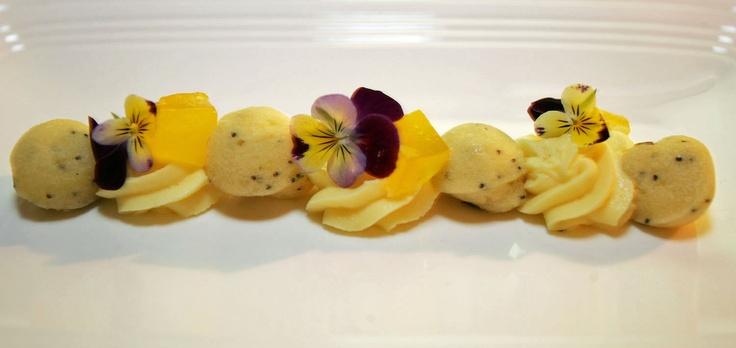 Lemon Poppy Seed Cake With Meyer Lemon Mousse Recipe ...