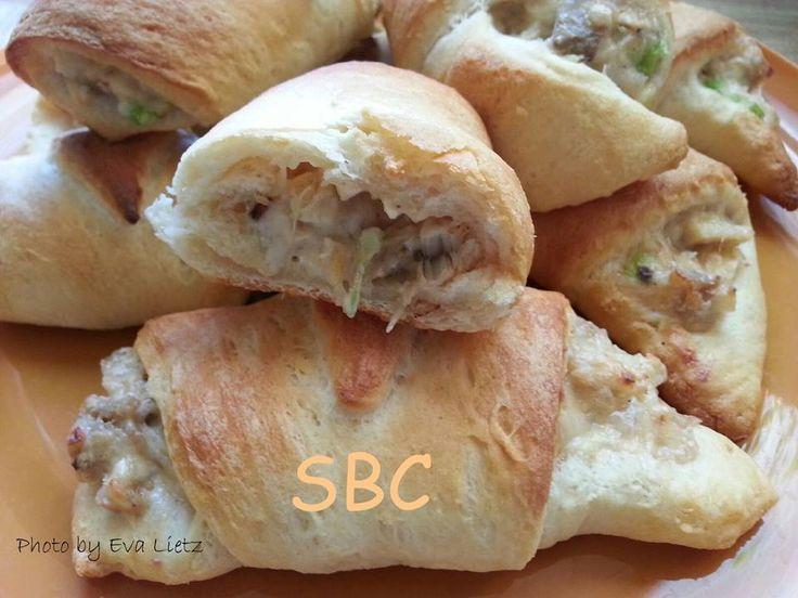 Roasted Garlic chicken Puffs | Sammies, Sides & Snacks | Pinterest