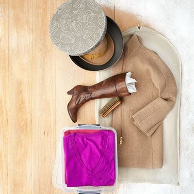 Storing Winter Clothes - Storage Solutions - Country Living