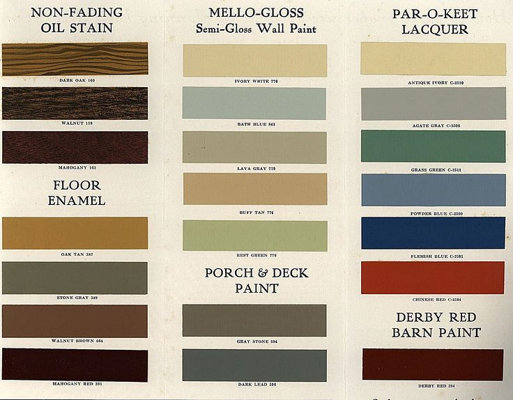 Lowe 39 S Brothers Paint And Stain 1930 Colorways Pinterest
