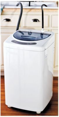 Haier compact portable washing machine small spaces pinterest - Washing machines for small spaces photos ...