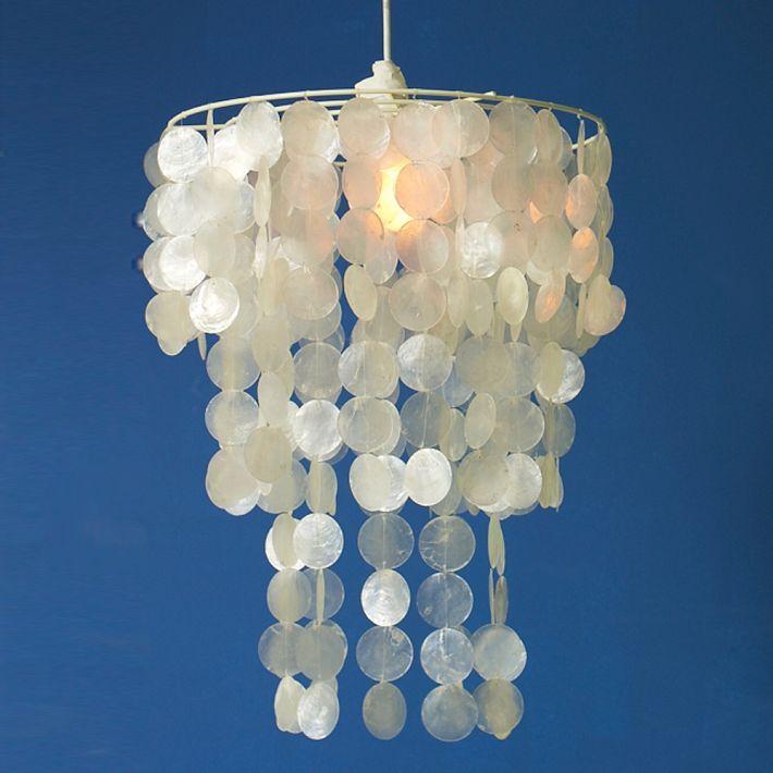 capiz shell lighting for nursery nursery pinterest. Black Bedroom Furniture Sets. Home Design Ideas