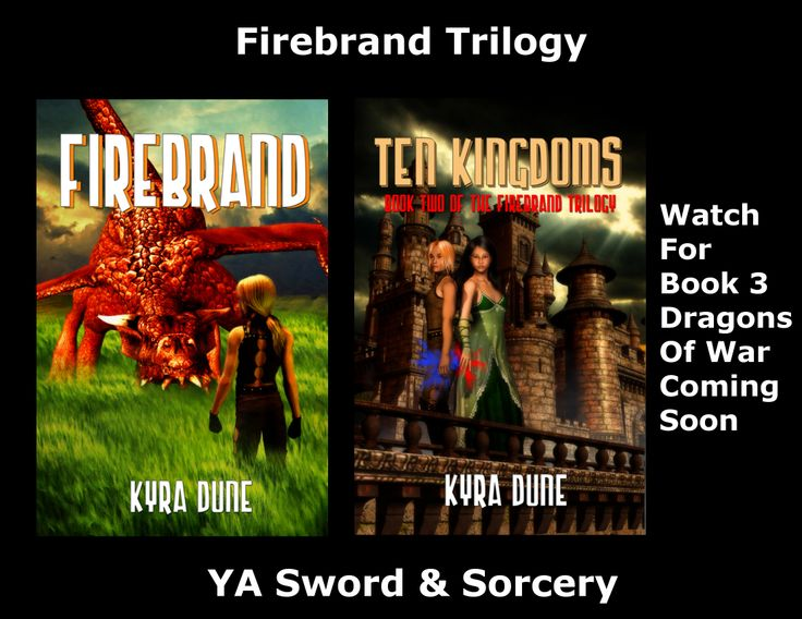 Firebrand Trilogy by Kyra Dune