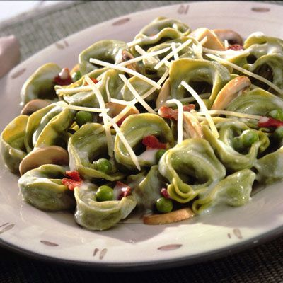 Tortellini Soup With Peas And Spinach Recipes — Dishmaps