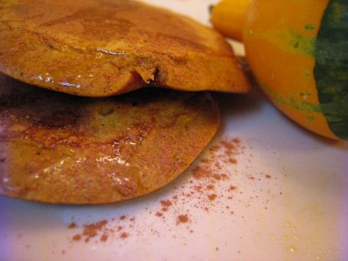 """Pancakes"""" since you can choose from pumpkin, squash, or sweet potato ..."""