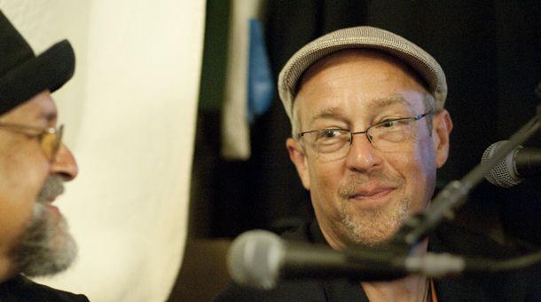 KUSP Interview w/ Dave Douglas. 56th Annual Monterey Jazz Festival. Photo: Stephen Laufer / KUSP