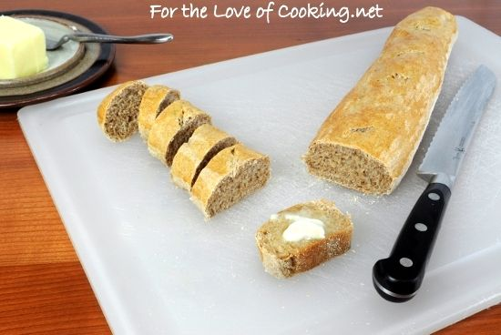 Whole Wheat Baguette | YUMMY RECIPES | Pinterest