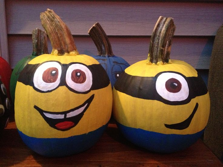 Pumpkin Painting Cool Ideas Pinterest